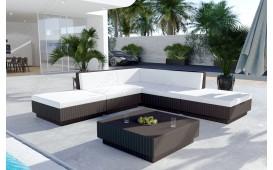 Rattan Lounge Garten Set CORALE v2