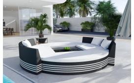 Rattan Lounge Garten Insel FELIX (6.tlg.) - v2