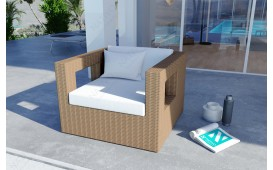 Rattan Lounge GROOVE Garten (5.tlg.) - V1-NATIVO™️ Designer Möbel Österreich