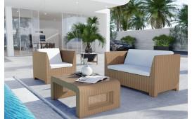 Rattan Lounge HARMONY Bartischsatz v1-NATIVO™️ Designer Möbel Österreich