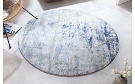 Designer Teppich ABSTRUSE BLUE ROUND-NATIVO™️ Designer Möbel Österreich