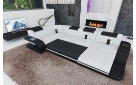 Designer Sofa ROYAL XL mit LED Beleuchtung & USB Anschluss-NATIVO™️ Designer Möbel Österreich
