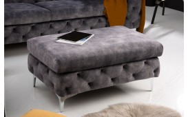 Designer Sitzhocker ROCCO BIG GREY-NATIVO™️ Designer Möbel Österreich