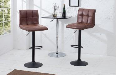 2 x Designer Barhocker CESENA BROWN-NATIVO™️ Designer Möbel Österreich