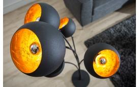 Designer Stehleuchte STARS BLACK GOLD AB LAGER