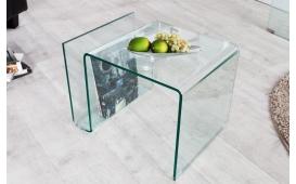 Designer Couchtisch CLEAR 50 cm