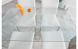 Designer Esstisch CLEAR 120 cm