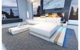 Designer Sofa IMPERIAL MINI mit LED Beleuchtung