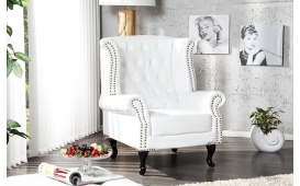 Designer Relaxsessel CHESTERO WHITE