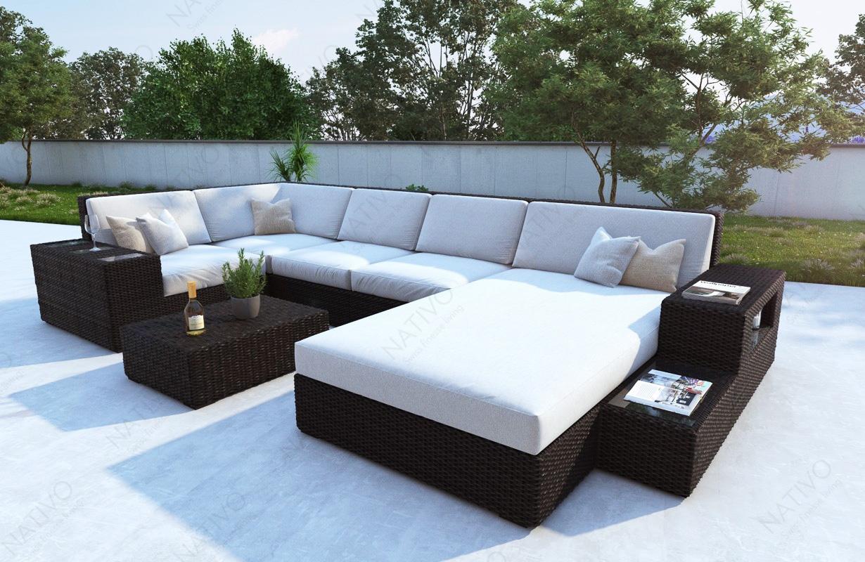 Rattan Ecksofa Lounge ~ Sammlung von Haus Design und neuesten Möbeln