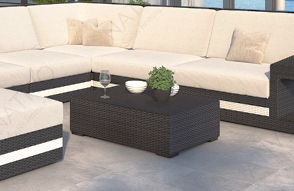 designer rattan tisch carezza von nativo m bel g nstig kaufen. Black Bedroom Furniture Sets. Home Design Ideas