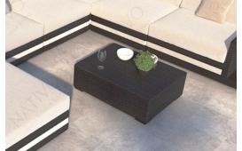 Designer Rattan Tisch CAREZZA
