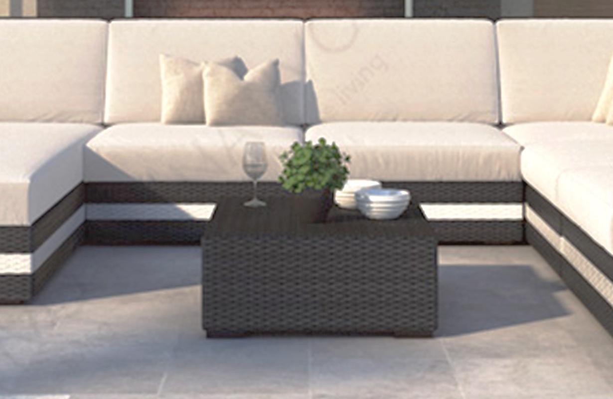 designer rattan tisch carezza von nativo m bel g nstig kaufen. Black Bedroom Furniture Sets. Home Design Ideas
