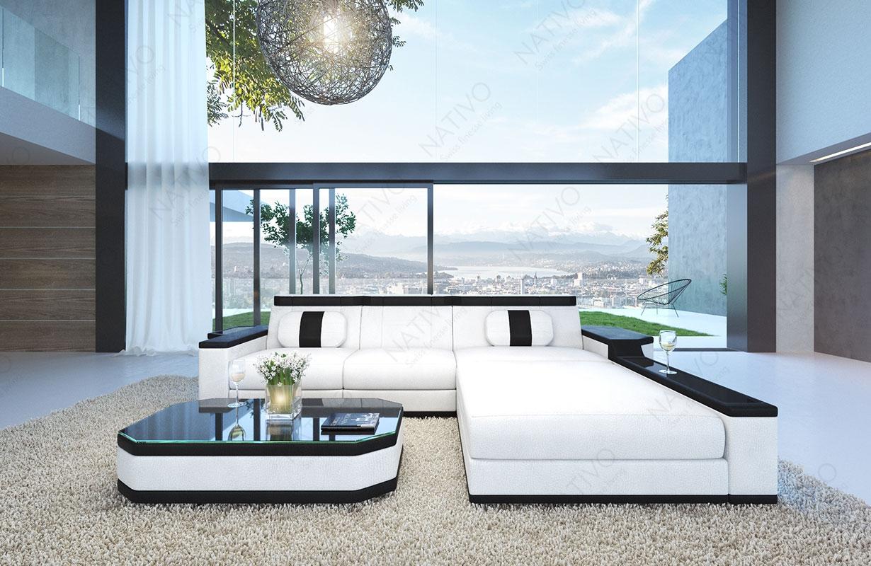 ledersofa cesaro bei nativo m bel oesterreich g nstig kaufen. Black Bedroom Furniture Sets. Home Design Ideas