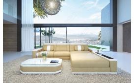 Designer Sofa CESARO MINI mit LED Beleuchtung