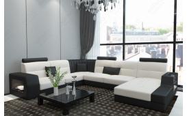 Designer Sofa LEGOLAS XXL mit LED Beleuchtung