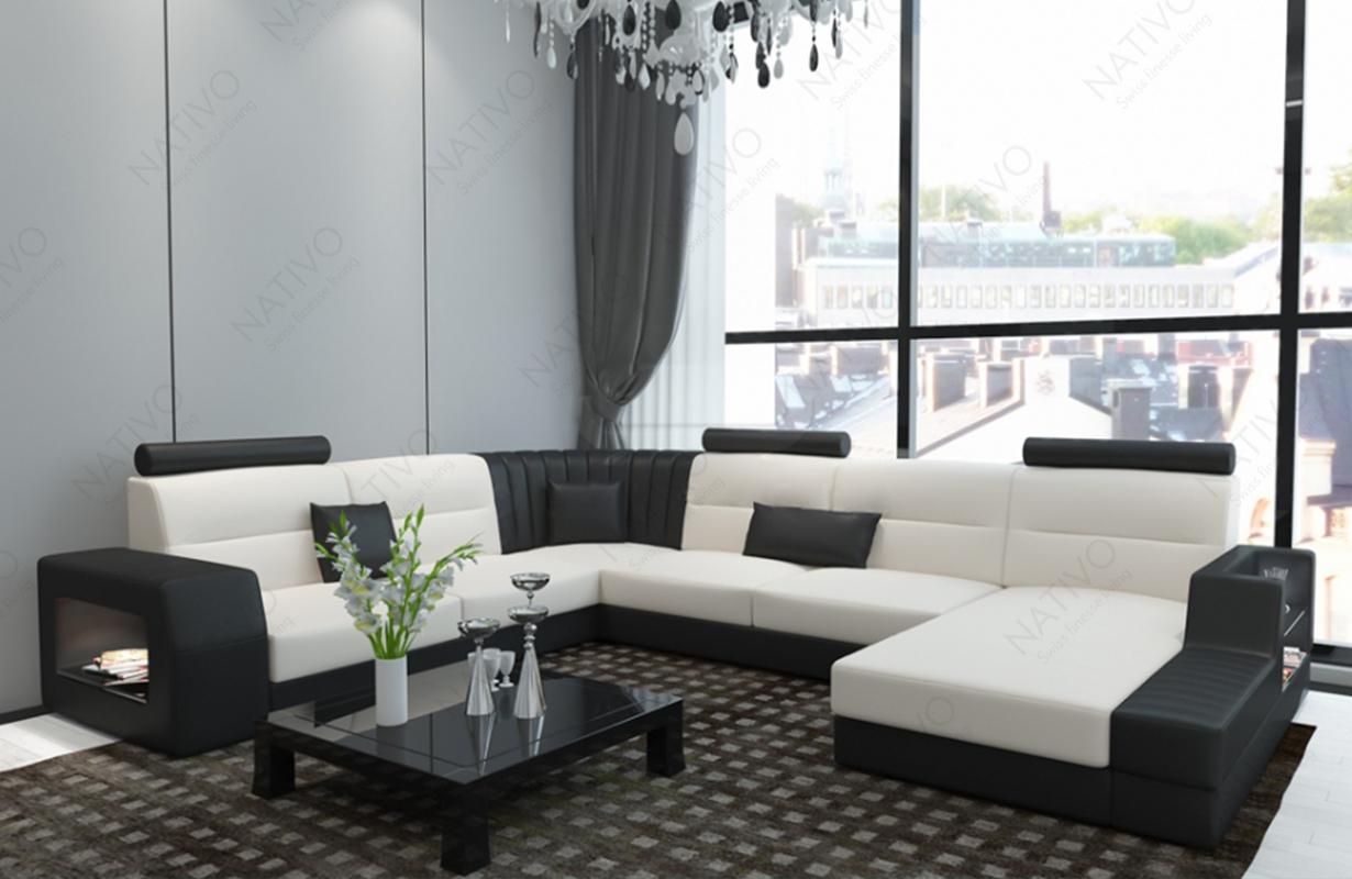 ledersofa legolas xxl bei nativo m bel oesterreich kaufen. Black Bedroom Furniture Sets. Home Design Ideas