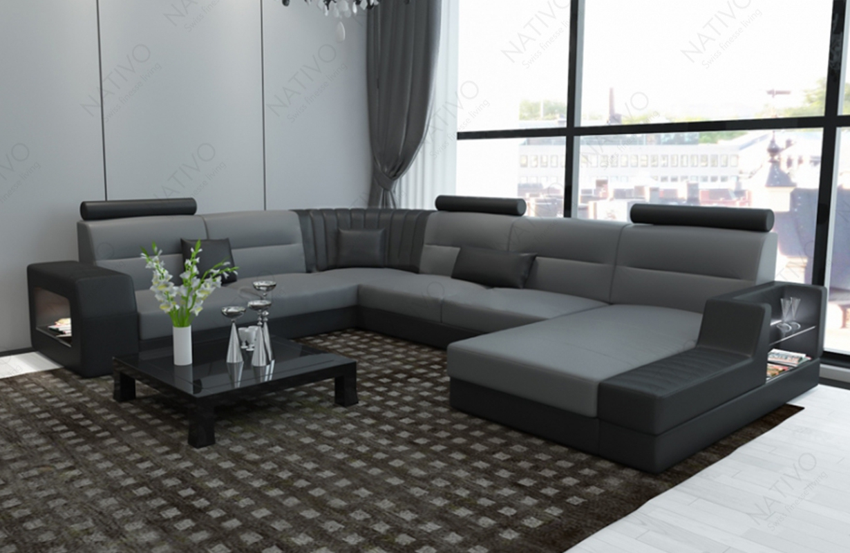 ledersofa legolas xxl bei nativo m bel oesterreich kaufen. Black Bedroom Furniture Sets. Home Design Ideas