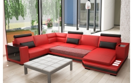 Designer Sofa LEONIDAS XXL von NATIVO Moebel Wien