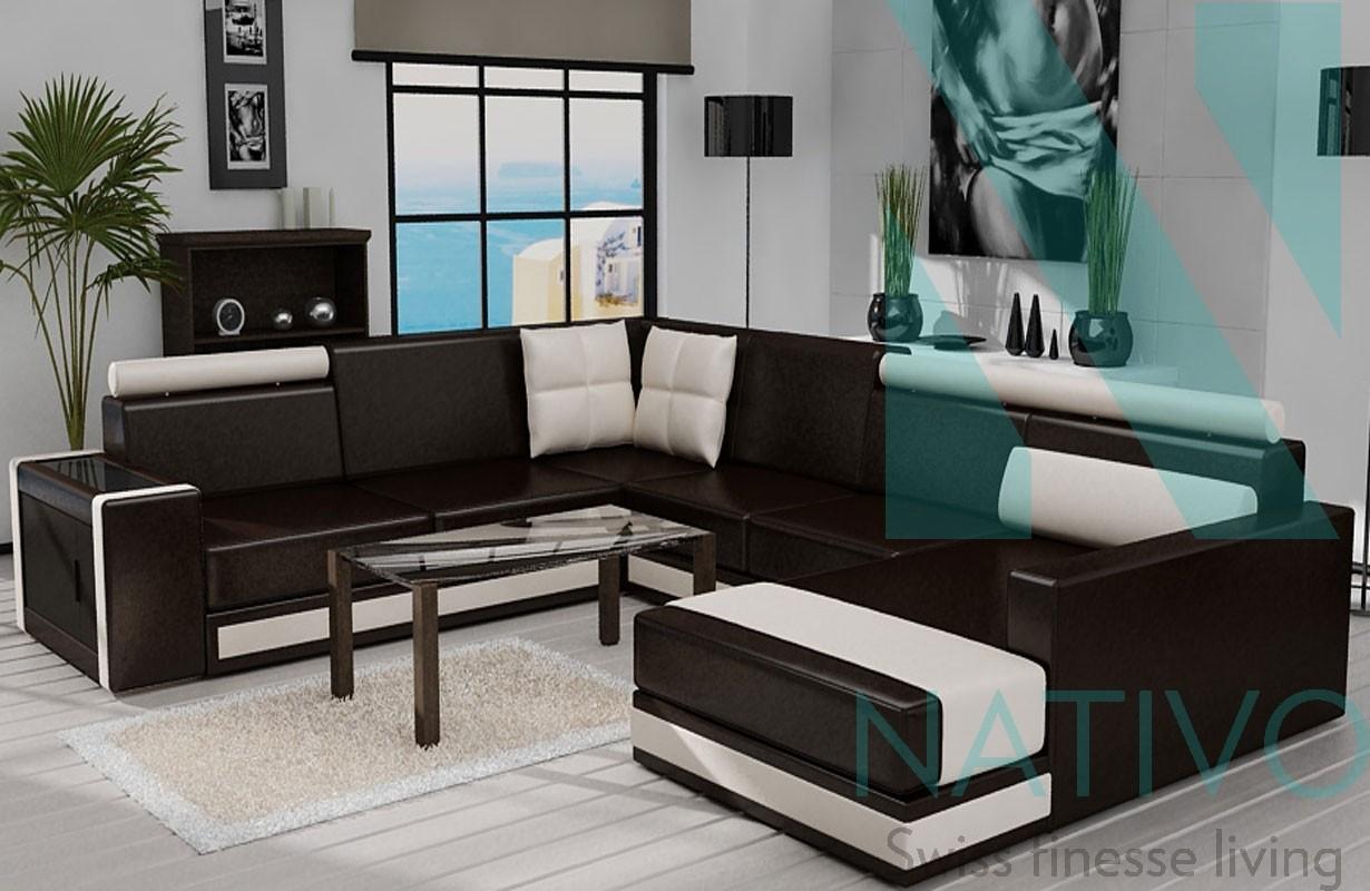 ledersofa sun bei nativo m bel oesterreich g nstig kaufen. Black Bedroom Furniture Sets. Home Design Ideas