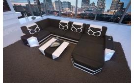 Designer Sofa AVENTADOR XL mit LED Beleuchtung