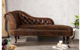 Designer Recamiere Chesterfield Antik