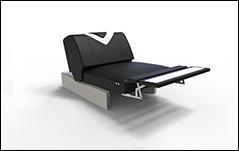 Designer Sofa FALCO XL mit LED Beleuchtung & USB Anschluss